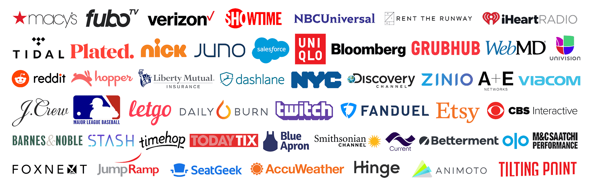 App Growth Summit NYC - Companies Attending