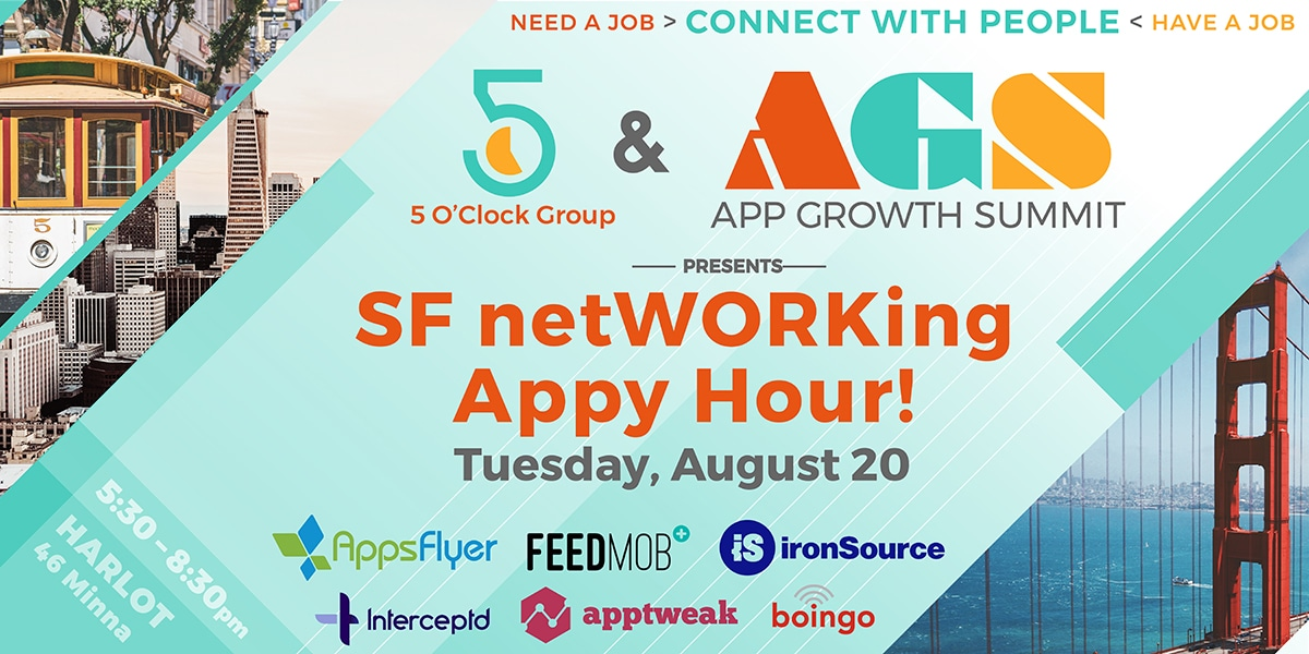 SF netWORKing Appy Hour 2019