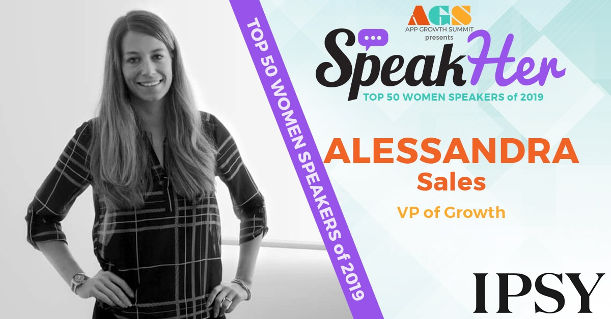 SpeakHer - Top 50 - Alessandra Sales