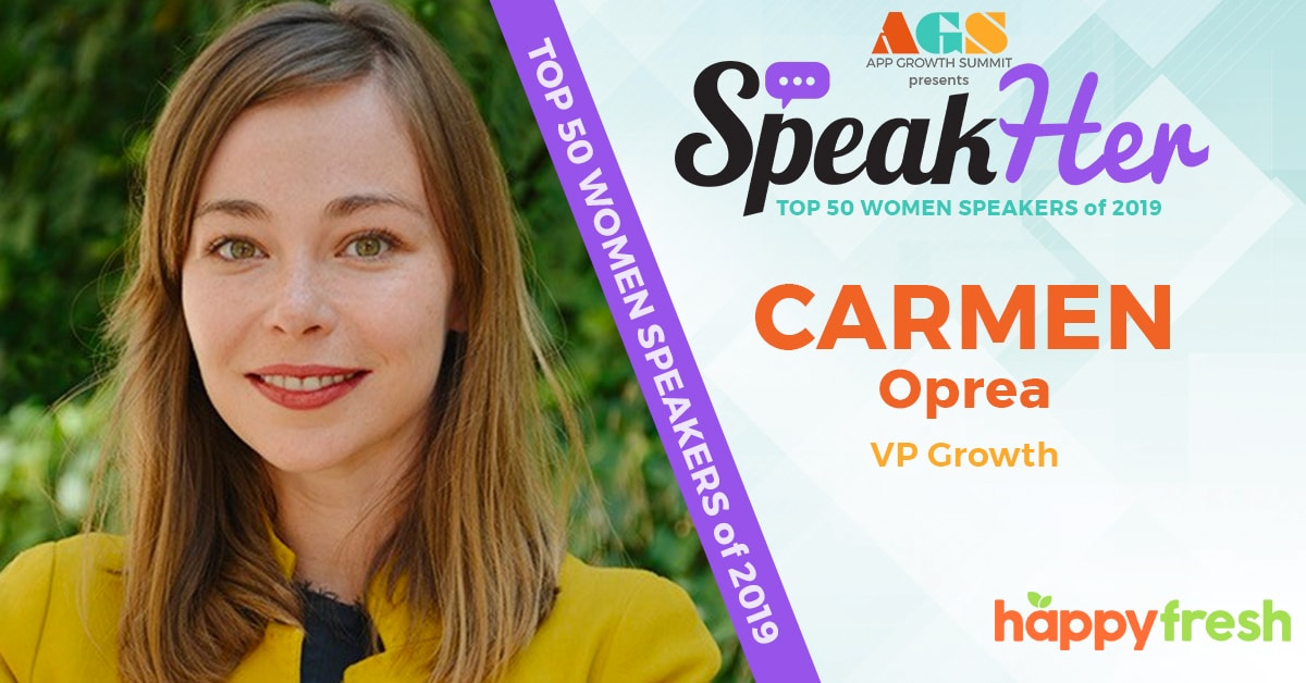SpeakHer - Top 50 - Carmen Oprea