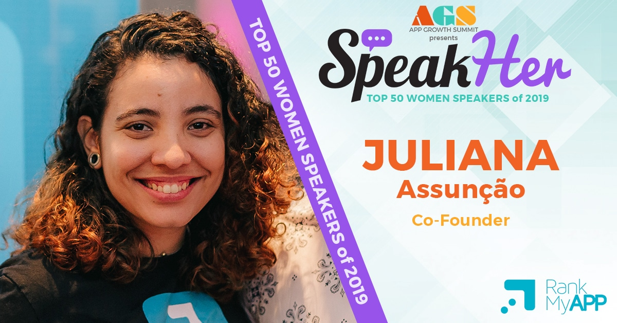 SpeakHer - Top 50 - Juliana Assunção