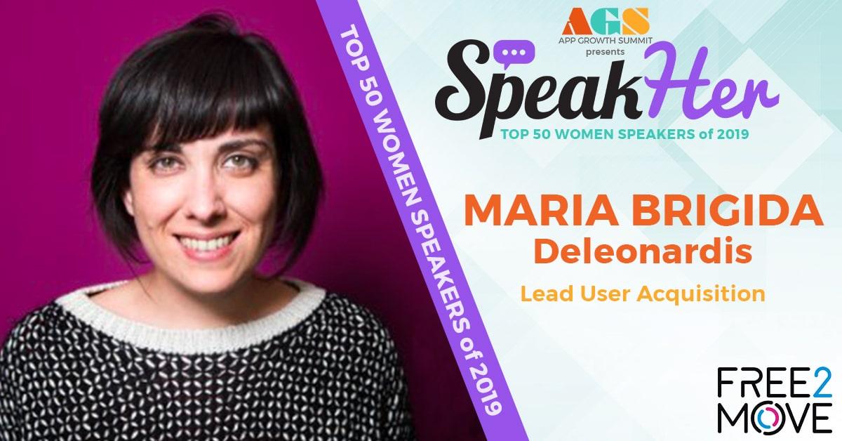 SpeakHer - Top 50 - Maria Brigida Deleonardis