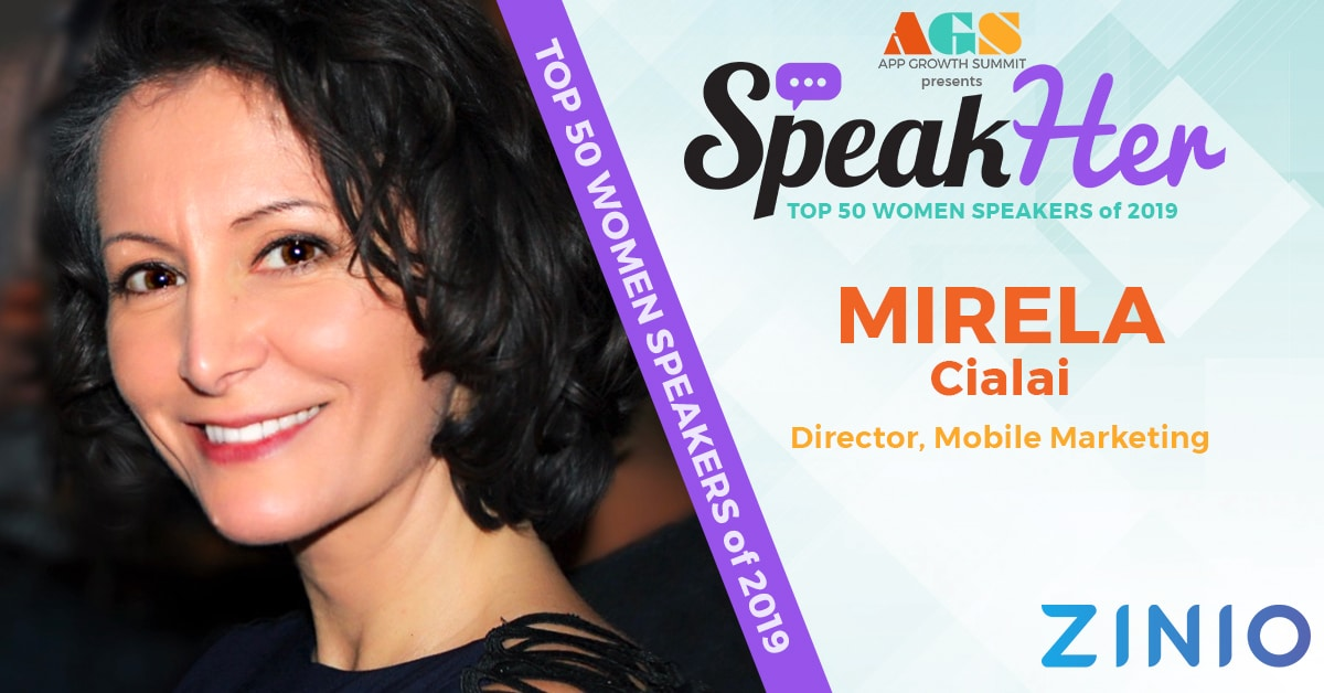 SpeakHer - Top 50 - Mirela Cialai