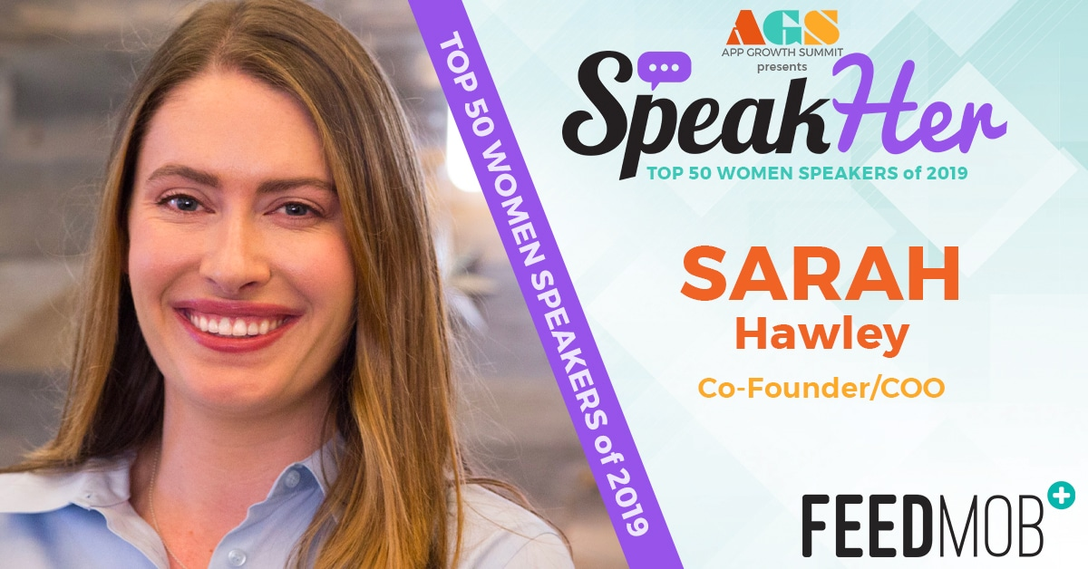SpeakHer - Top 50 - Sarah Hawley