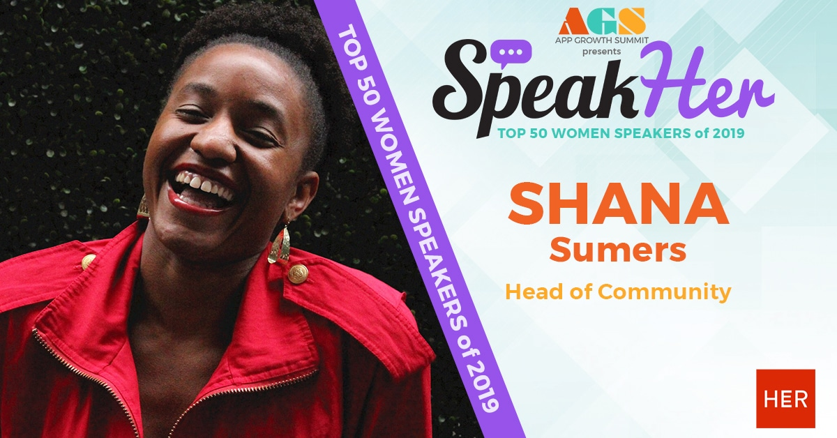 SpeakHer - Top 50 - Shana Sumers