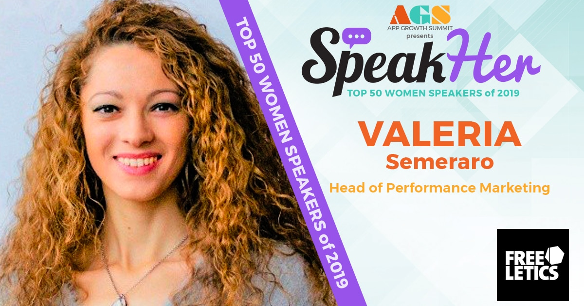 SpeakHer - Top 50 - Valeria Semeraro