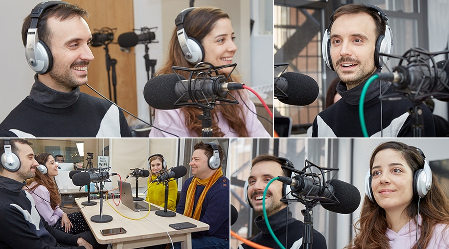 Appy Hour Talk Show Podcast - Adrian Sarasa & Deniz Varol - Season 01, Episode 02