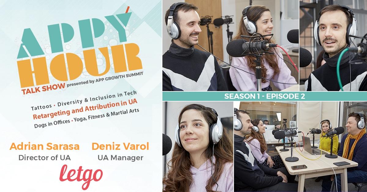 Season 01 - Episode 02: Adrian Sarasa & Deniz Varol, letgo