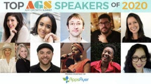 App Growth Summit 2020 Speakers of the Year!