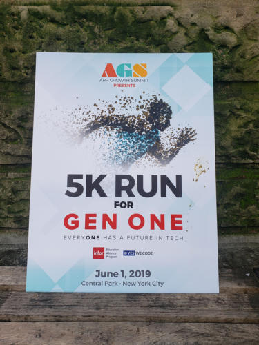 NYC 5K Run for Gen One 2019