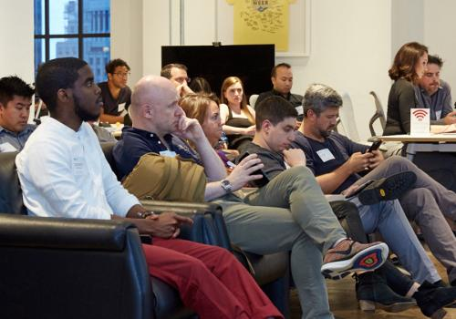 App Growth Mini-Summit NYC18 - Full House of VIP Mobile App Professionals