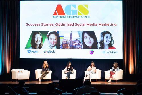 App Growth Summit SF - Social Media Marketing Success Stories